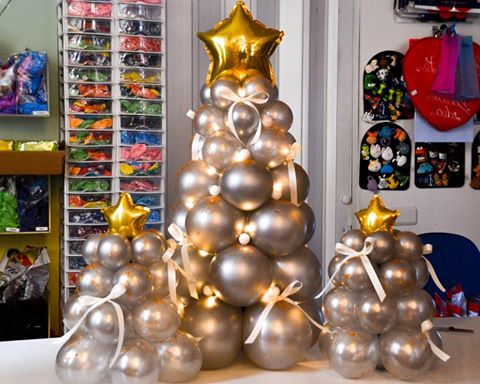 Natale Idea.Home Balloon Idea
