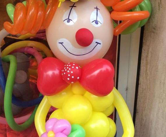 Clown di palloncini