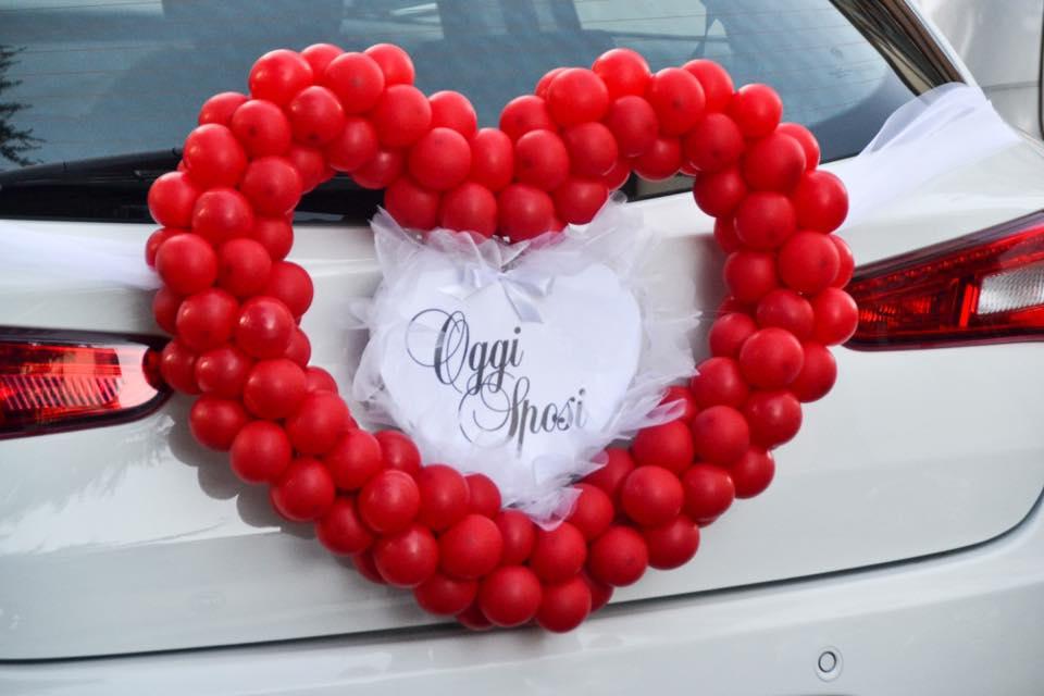 Estremamente Cuore di palloncini per matrimonio - Balloon Idea NC25